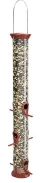 Sunflower Feeder Burgundy 23 Inch (Cjm23B) - Peazz.com