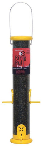 Ring Pull Finch Feeder Yellow 15 Inch (Rpf15Y) - Peazz.com