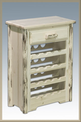 Montana Woodworks MWWR Wine Cabinet Ready To Finish - Peazz.com