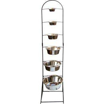 36pc Standard Stainless Dish Display