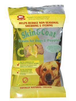 2 Quantity of Skin & Coat Treats For Dogs 2.4oz - Peazz.com
