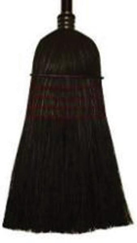 Treated Corn & Rattan Broom  (6115) - Peazz.com