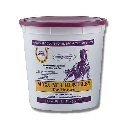 Maxum Crumbles Equine Feed Supplement 25 Lbs (75425) - Peazz.com