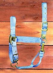 "11-16 Adjustable Chin Halter w/ Snap - Berry Large 1"" (1DAS LGBY) - Peazz.com"