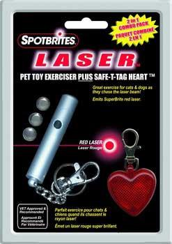Spotbrights Laser And Heart Safe T Tag Combo Pack 12 Pc Clip Strip - Peazz.com