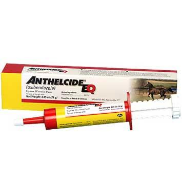 Anthelcide EQ Oxibendazole Paste De-Wormer for Horses 24 Gram (6045) - Peazz.com