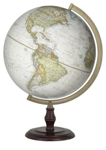 National Geographic Globes 10 12 07S - Highspire Non-Illuminated Desk Globe - Peazz.com