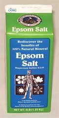Epsom Salt - 4 Lbs - 6 Pack (6468-4) - Peazz.com
