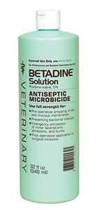 Betadine Solution 32 oz. (67618-155-32 BVSO32) - Peazz.com