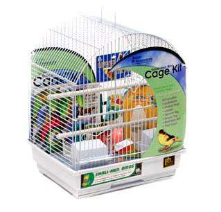 Small Round Roof Bird Cage Kit (91102) - Peazz.com