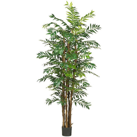 7' Bamboo Palm Silk Tree - Peazz.com