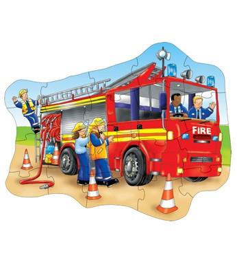 Orchard Toys Big Fire Engine Jigsaw Puzzle 258 - Peazz.com