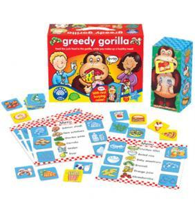 Orchard Toys Greedy Gorilla Game 041 - Peazz.com