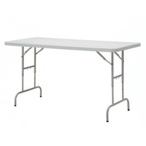 Office Star Work Smart BT06A 6' Height Adjustable Resin Multi Purpose Table - Peazz.com