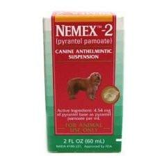 Pfizer Nemex 2 Oral Liquid Wormer Suspension for Dogs 2 oz - Peazz.com