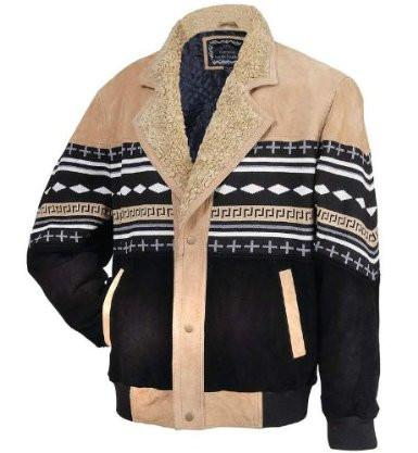 B&F System GFSWXL Casual Outfitters Solid Genuine Suede Leather Jacket