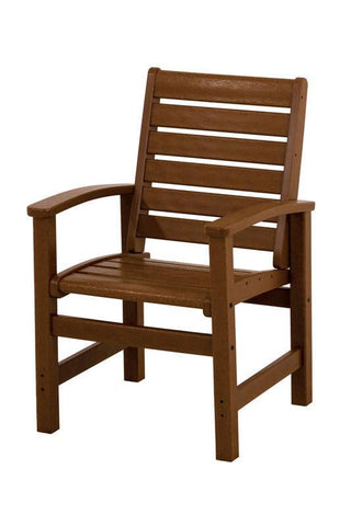 Polywood 1910-TE Signature Dining Chair in Teak - PolyFurnitureStore