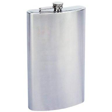 B&F System KTFLK128 Maxam Enormous 1 Gallon Stainless Steel Flask - Peazz.com