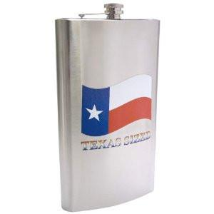 B&F System KTFLKMT Maxam 1 Gallon Stainless Steel Flask with TEXAS SIZED Imprint - Peazz.com