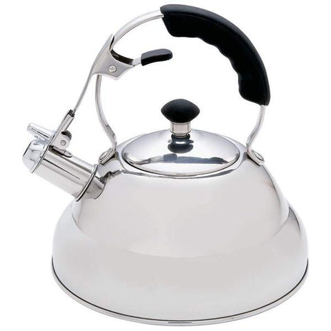 Chef's Secret® 2.75qt Surgical Stainless Steel Tea Kettle with Copper Capsule Bottom - Peazz.com