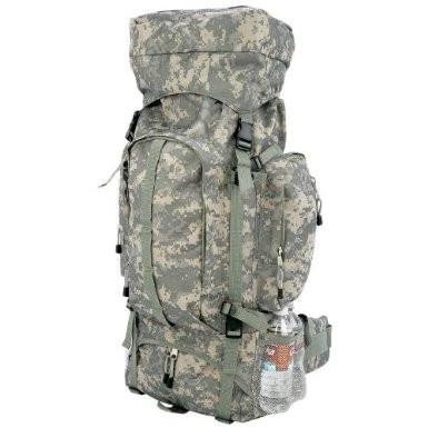 B&F System LUOB310D Extreme Pak Digital Camo Water-Repellent, Heavy-Duty Mountaineers Backpack - Peazz.com