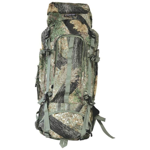B&F System LUOB310TC Extreme Pak Invisible Pattern Tree Camo Water-Resistant, Heavy-Duty Mountaineers Backpack - Peazz.com