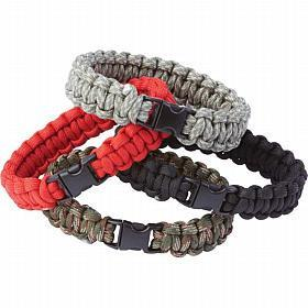 B&F System SPCORDM Maxam 12pc Paracord Bracelet Set - Peazz.com