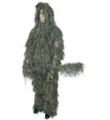 B&F System SPGHILML Classic Safari 4pc Woodland Ghillie Suit - Peazz.com