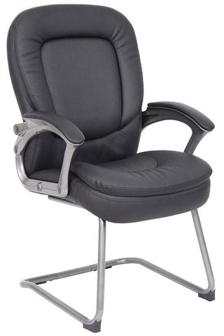 Boss Office Products B7109 Boss Pillow Top Guest Chair - Peazz.com