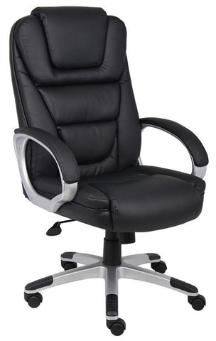 "Boss Office Products B8601 Boss ""NTR"" Executive LeatherPlus Chair - Peazz.com"