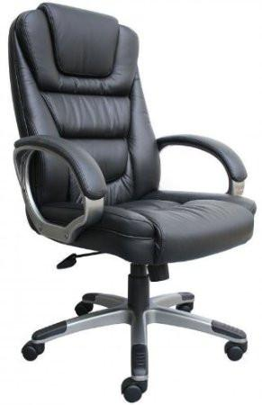 "Boss Office Products B8602 Boss ""Ntr"" Executive Leatherplus Chair W/ Knee Tilt - Peazz.com"