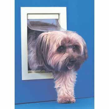 Ideal Pet Door Original White Small - Peazz.com