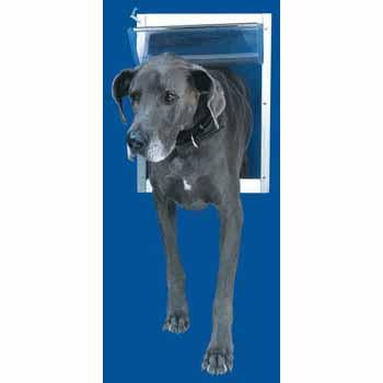 Ideal Pet Door Original White Super Large - Peazz.com