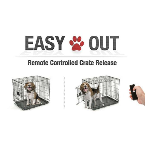 EasyOut EASYOUT-2 Remote Pet Door Opener Double Latch - Peazz.com