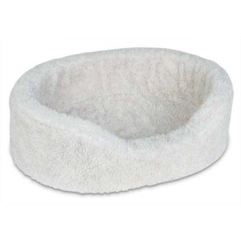 "Petmate PTM27177 Plush Lounger Extra Small Natural Berber 21"" x 16"" x 7"" - Peazz.com"
