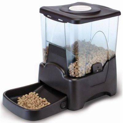 QPets Large Capacity Automatic Pet Feeder AF-100 - Peazz.com