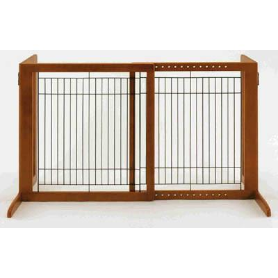 Freestanding Pet Gate HS in Autumn Matte - Peazz.com