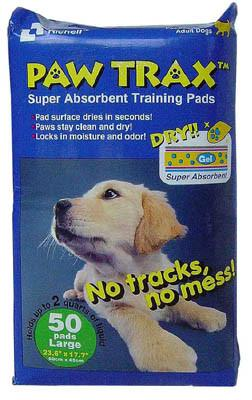 Paw Trax Pet Training Pads 50 Count (R94533) - Peazz.com