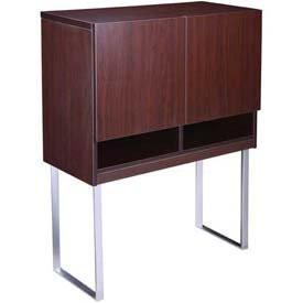 Boss Office Products N8009-MOC Boss Modular Laminate Series Hutch - Peazz.com