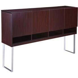 Boss Office Products N8010-MOC Boss Modular Laminate Series Hutch - Peazz.com
