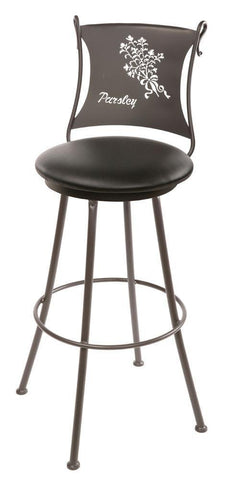 Parsley Swivel Barstool - BarstoolDirect.com