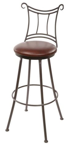 Waterbury Swivel Barstool - BarstoolDirect.com - 1