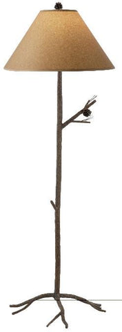 Pine Floor Lamp - Peazz.com