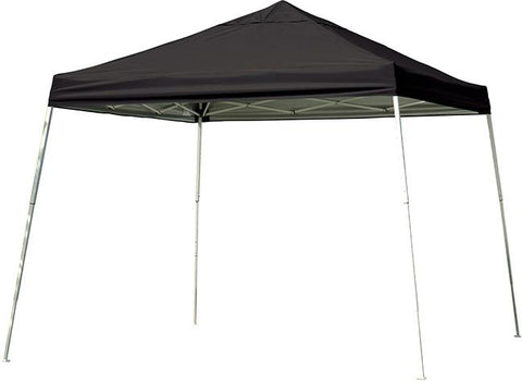 ShelterLogic 22547 12 ft. x 12 ft. Sport Pop-up Canopy Slant Leg Black Cover - Peazz.com