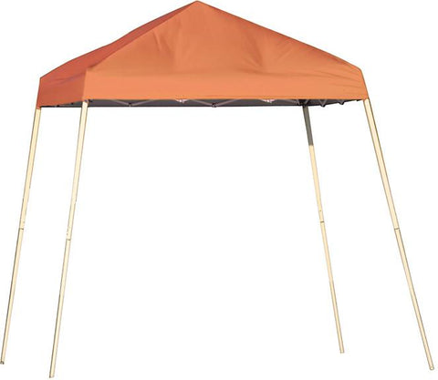 ShelterLogic 22736  8 ft. x 8 ft. Sport Pop-up Canopy Slant Leg Terracotta Cover - Peazz.com