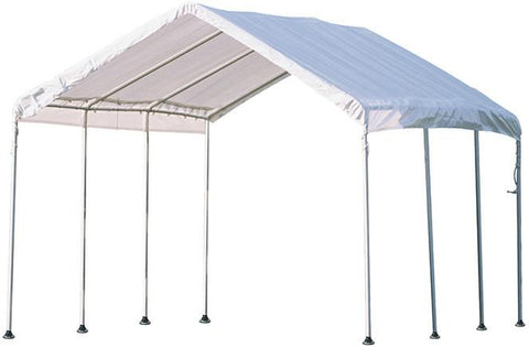 ShelterLogic 23522 Max AP 10 ft. x 20 ft. White All Purpose Canopy - Peazz.com