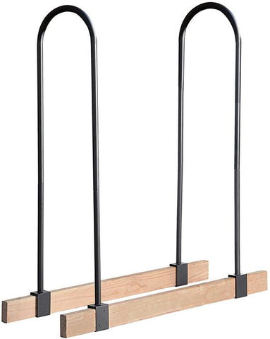 ShelterLogic 90459 Lumber Rack Firewood Adjustable Brackets - Peazz.com