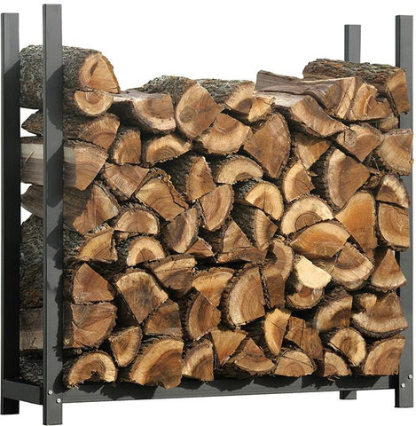 ShelterLogic 90471 Firewood Rack-in-a-Box Ultra Duty Rack - 4 ft. - Peazz.com