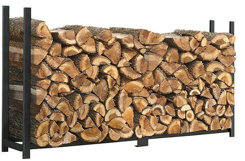 ShelterLogic 90472 Firewood Rack-in-a-Box Ultra Duty Rack - 8 ft. - Peazz.com