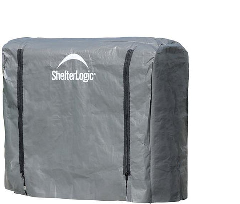 ShelterLogic 90477 Firewood Rack-in-a-Box Universal Cover - 4 ft. - Peazz.com